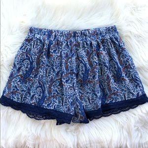 Lush Paisley Shorts